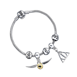 Pulseira Harry Potter Three Spells