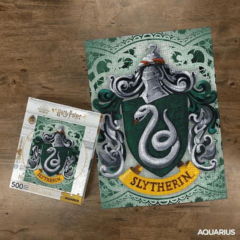 Puzzle 500 Peças Harry Potter Slytherin