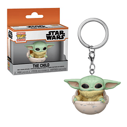 Porta-chaves Pocket POP! Star Wars: The Child in Canister
