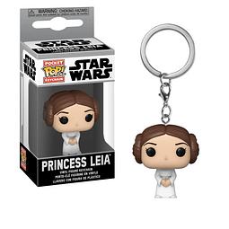 Porta-chaves Pocket POP! Star Wars: Princess Leia