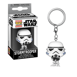 Porta-chaves Pocket POP! Star Wars: Stormtrooper