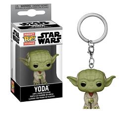 Porta-chaves Pocket POP! Star Wars: Yoda