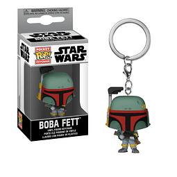 Porta-chaves Pocket POP! Star Wars: Boba Fett