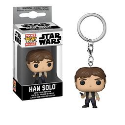Porta-chaves Pocket POP! Star Wars: Han Solo