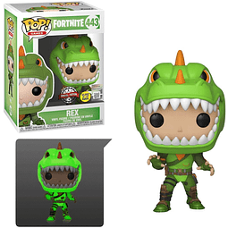 POP! Games: Fortnite - Rex GITD Special Edition