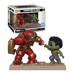 POP! Movie Moments: Marvel Studios - Hulkbuster vs. Hulk Exclusive
