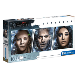 Puzzle 1000 Peças The Witcher Panorama