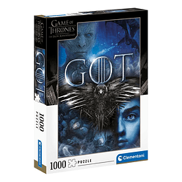 Puzzle 1000 Peças Game of Thrones Three-Eyed Raven