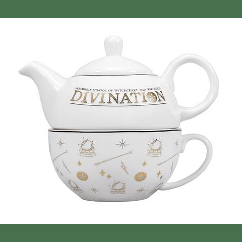 Conjunto Bule e Caneca de Chá Harry Potter Divination