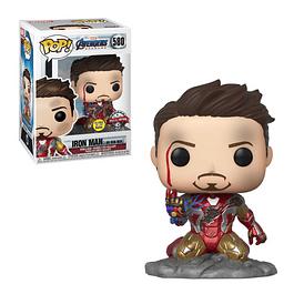 POP! Marvel Avengers Endgame: Iron Man (I Am Iron Man) Special Edition GITD