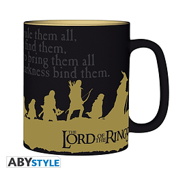 Caneca The Lord of the Rings The Fellowship of the Ring