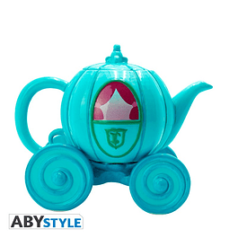 Bule de Chá Disney Cinderella Carriage