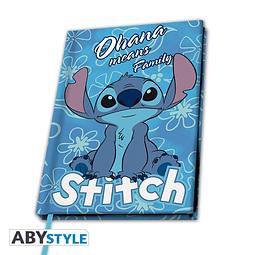 Notebook A5 Disney Lilo & Stitch Ohana