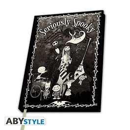 Notebook A5 The Nightmare Before Christmas Seriously Spooky