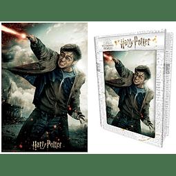 Puzzle Lenticular 3D 300 Peças Harry Potter Battle (Tin Book)