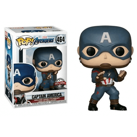 POP! Marvel Avengers Endgame: Captain America Special Edition