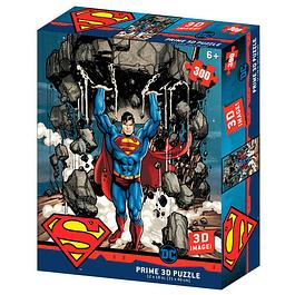 Puzzle Lenticular 3D 300 Peças DC Comics Superman