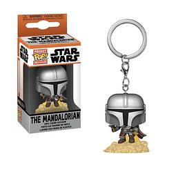 Porta-chaves Pocket POP! Star Wars: The Mandalorian