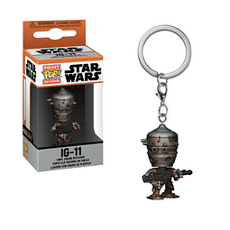 Porta-chaves Pocket POP! Star Wars: IG-11