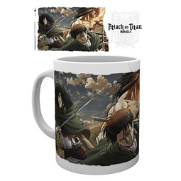 Caneca Attack on Titan Scouts