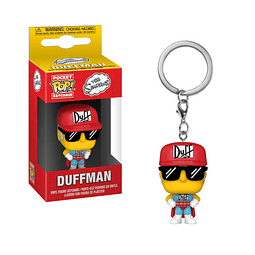 Porta-chaves Pocket POP! The Simpsons: Duffman