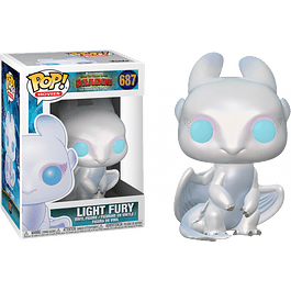 POP! Movies: How to Train Your Dragon 3 - Light Fury