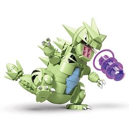 Pokémon Mega Construx Wonder Builders Construction Set Tyranitar