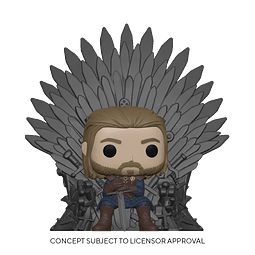 POP! Deluxe: Game of Thrones - Ned Stark on Throne
