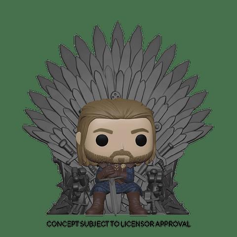 POP! Deluxe: Game of Thrones - Ned Stark on Throne