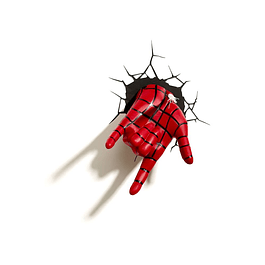 Luz de Presença Marvel Ultimate Spider-Man Hand
