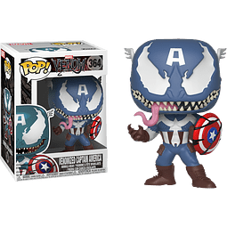POP! Marvel Venom: Venomized Captain America
