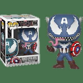 POP! Marvel Venom: Venomized Captain America