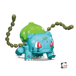 Pokémon Mega Construx Wonder Builders Construction Set Bulbasaur
