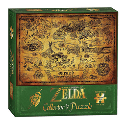 Puzzle 550 Peças The Legend of Zelda Hyrule
