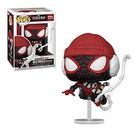 POP! Marvel Spider-Man Miles Morales: Miles Morales (Winter Suit)