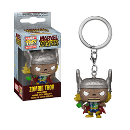 Porta-chaves Pocket POP! Marvel Zombies - Zombie Thor