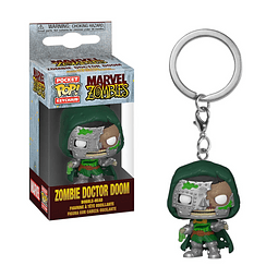 Porta-chaves Pocket POP! Marvel Zombies - Zombie Doctor Doom