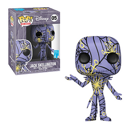 POP! Art Series: Disney - Jack Skellington