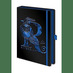 Notebook A5 Premium Harry Potter Ravenclaw Foil