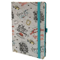 Notebook A5 Premium Friends Quotes