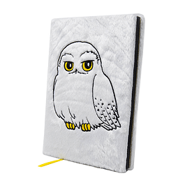 Notebook A5 Premium Harry Potter Fluffy Hedwig