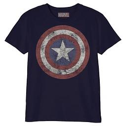 T-shirt Criança Captain America Shield
