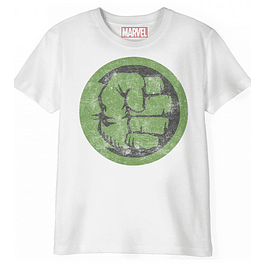 T-shirt Criança Hulk Distressed Logo