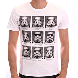 T-shirt Star Wars Stormtrooper Emotion