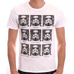 T-shirt Star Wars Stormtrooper Emotion