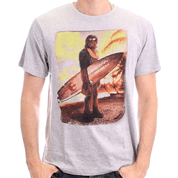 T-shirt Star Wars Chewbacca Surf