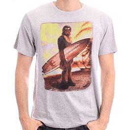 T-shirt Star Wars Chewbacca Surf