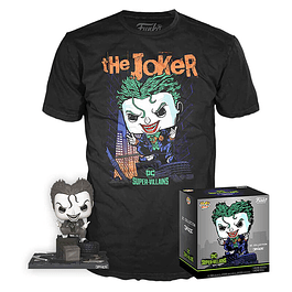 POP! & Tee Box DC Collection by Jim Lee The Joker