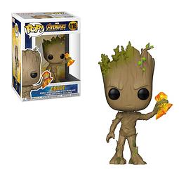 POP! Marvel Avengers Infinity War: Groot (with Stormbreaker)