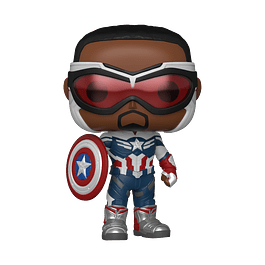 POP! Marvel The Falcon and the Winter Soldier - Captain America